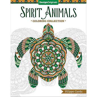 Spirit Animals (Filippo Cardu Coloring Collection) by Filippo Cardu -
