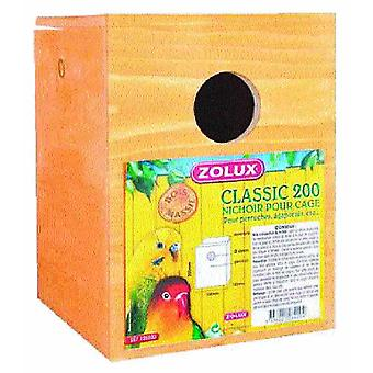 Zolux Nido Madera Agapornis (Birds , Bird Cage Accessories , Nests and Complements)