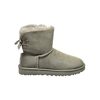 Ugg Grey Suede Ankle Boots