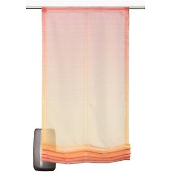 decode trends curtain transparent Roman shade with a subtle gradient Orange