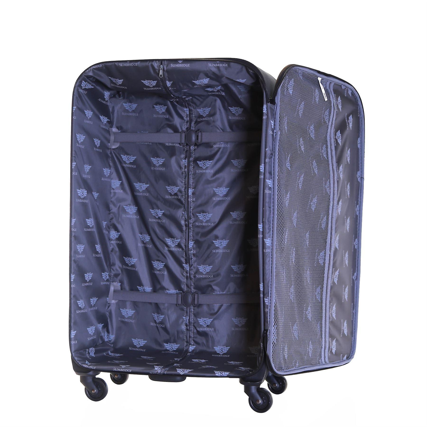 Slimbridge Andalucia 79 cm Spinner Suitcase, Black