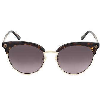 Gucci Cat Eye solbriller GG0222SK 002 56