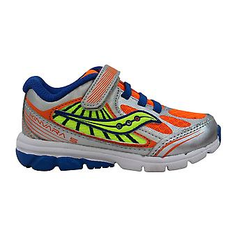 Saucony Kinvara 5 Blue/Orange-Neon ST52285 Toddler