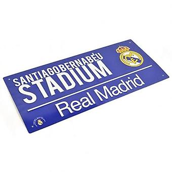 Real Madrid Street Sign BL