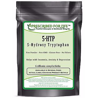 5-HTP - 100% Pure 5-Hydroxy Tryptophan Powder (Griffonia simplicifolia)