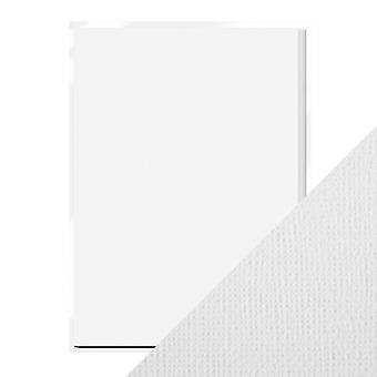 Craft Perfect A4 Weave Textured Card Bright White Tonic Studios
