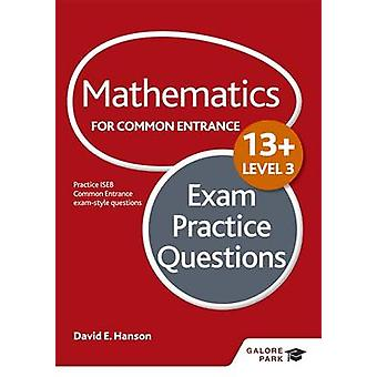 Mathematics Level 3 for Common Entrance at 13+ Exam Practice Question