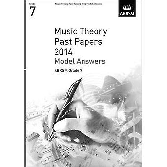 Music Theory Past Papers 2014 Model Answers - ABRSM Grade 7 - 9781848