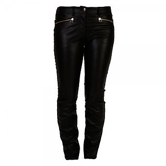 MW by Matthew Williamson Faux Leather Skinny Pant