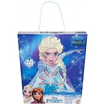 Disney Frozen Frozen 4 Pack Super 3D Jigsaw Puzzle Set