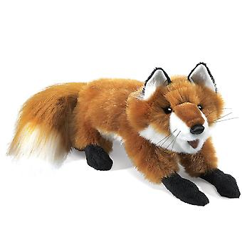 Hand Puppet - Folkmanis - Fox Red Small New Animals Soft Doll Peluche Toys 2576