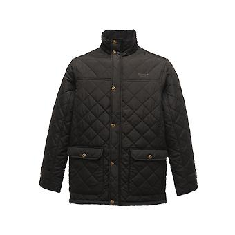Regatta professional men's tyler diamond quilted insulated jacket tra441