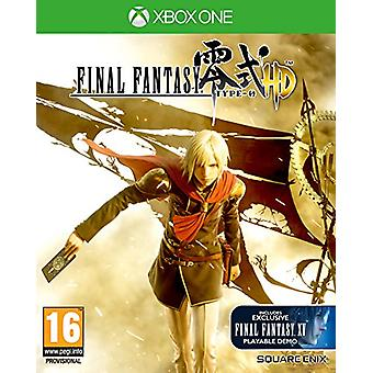 Final Fantasy Type-0 HD (Xbox One) - Factory Sealed