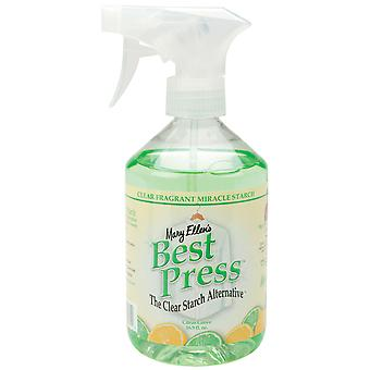 Mary Ellen's Best Press Clear Starch Alternative 16 Ounces Citrus Grove 600Bp 32