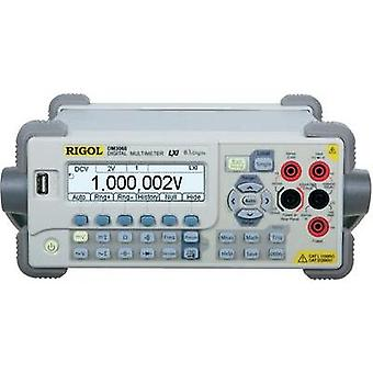 Bench multimeter digital Rigol DM3068 Calibrated to: Manufacturer standards CAT II 300 V Display (counts): 2200000