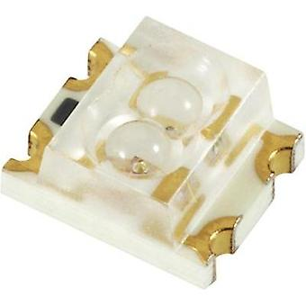 SMD LED (multi-colour) 1206 Green, Red 50 mcd, 27 mcd 60 °