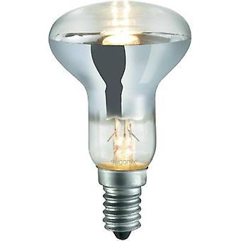Eco halogen 85 mm Sygonix 230 V E14 28 W Warm white EEC: C Reflector bulb dimmable 1 pc(s)