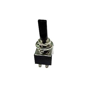 Toggle switch 250 Vac 3 A 2 x On/Off/On SCI TA203G