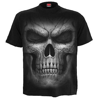 Spiral Direct Gothic SHADOW MASTER - Front Print T-Shirt Black|Skulls|Death|Horror
