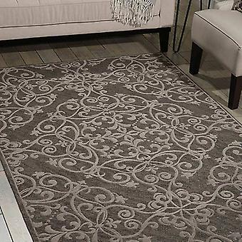 Rugs - Damask - Grey DAS01