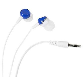 Vivanco Sr headphones stereo blue button 3