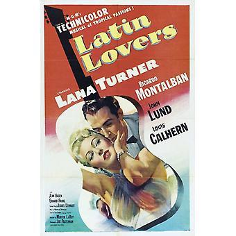 Latin Lovers filmaffisch (11 x 17)