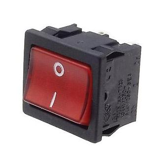 Toggle switch 250 V 10 A 1 x Off/On interBär 3628-295.22 latch 1 pc(s)