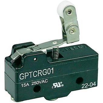 Microswitch 250 Vac 15 A 1 x On/(On) Cherry Switches GPTCRG01 momentary 1 pc(s)