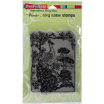 Stampendous Cling stempel 5,25