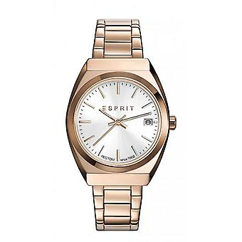ESPRIT ladies watch bracelet watch Emily stainless steel Rosé ES108522004
