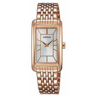 Lorus Womans Rose Gold Plated White RRW06FX9 Watch