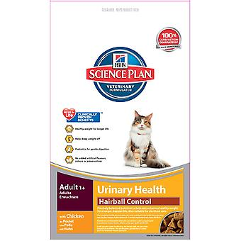 Hill's Science Plan Feline Adult Urinary Care Hairball Control 3kg