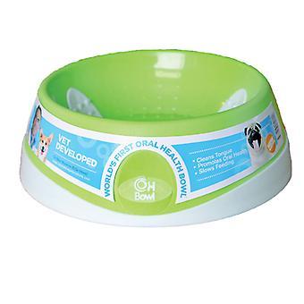 Innovative Oral sundhed skål grøn lille 18cm