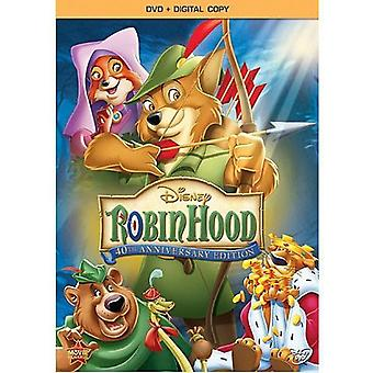Robin Hood: 40th Anniversary Edition [DVD] USA import