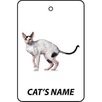 Personlig Cornish Rex Cat bil Air Freshener