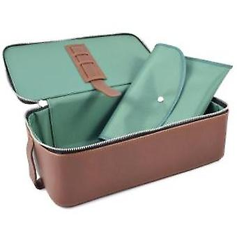 Daines & Hathaway Leather Finsbury Caramelo Box Wet Pack