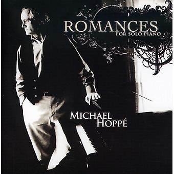 Michael Hoppe - romancer for Solo klaver [CD] USA import