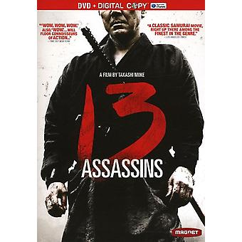 13 Assassins [DVD] USA import