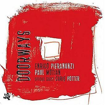 Enrico Pieranunzi - døråbninger [CD] USA importerer