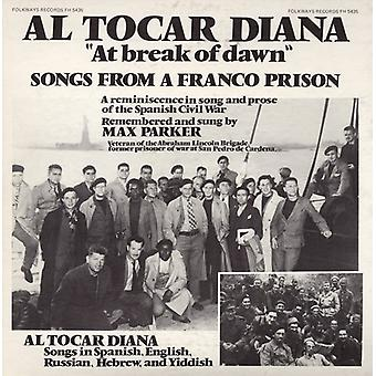 Max Parker - At the Break of Dawn: Songs From a Franco Prison [CD] USA import
