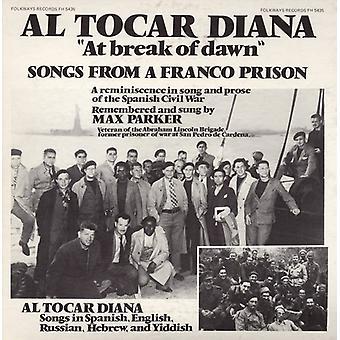 Max Parker - bei the Break of Dawn: Lieder aus ein Franco Gefängnis [CD] USA Import