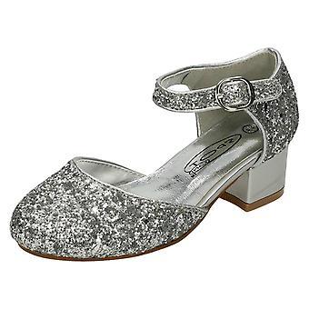 Piger Spot på midten hæl sko H3065