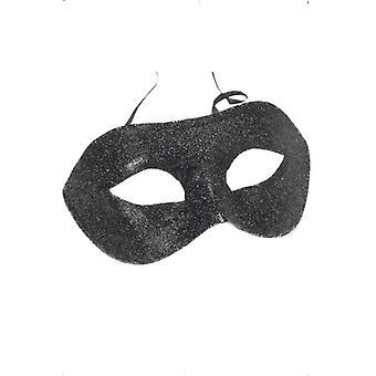 Gino eye mask black glitter