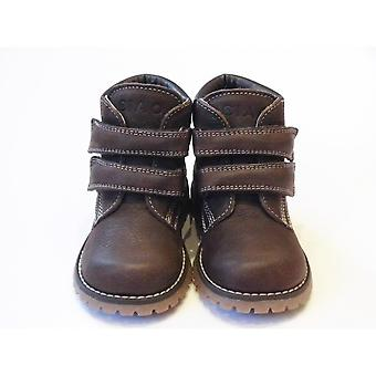 Ciao Boys Brown Winter Boots Size UK4 Infant / EU 20  - Sturdy Leather Winter Boots