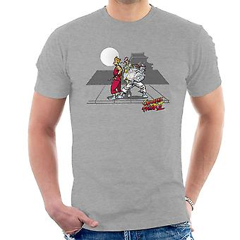 Kryogene Fighter II Futurama Street Fighter mænd T-Shirt