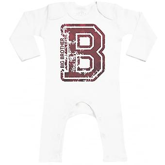 Spoilt Rotten Big Brother Baby Footless Romper