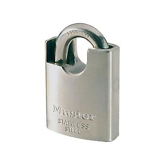 Masterlock 50mm Stainless Steel Padlock - Arco Protected