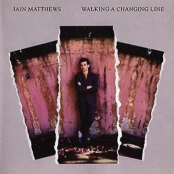 Importación de Ian Matthews - a pie de Estados Unidos de un cambio de línea [CD]