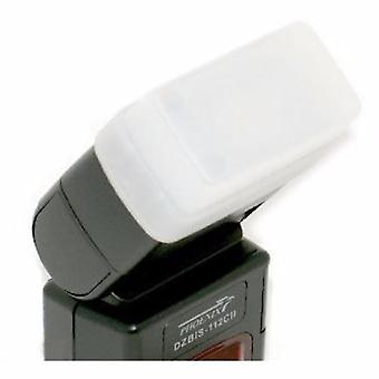 JJC FC-26W White Flash-Diffusor für Canon 300TL / Phoenix DZBIS 112 11, 112TTL, ZBIS-106AF / Soligor PZ400AFC / Vivitar 730AF, DF340Z