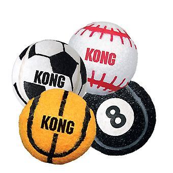 Kong Sports Balls Ass 3pk Medium